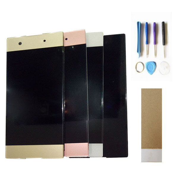 For Sony Xperia XA1 G3116 G3121 G3112 LCD Display With Touch Sensor Screen Digitizer Black White Gold Pink Color With Tools Tape