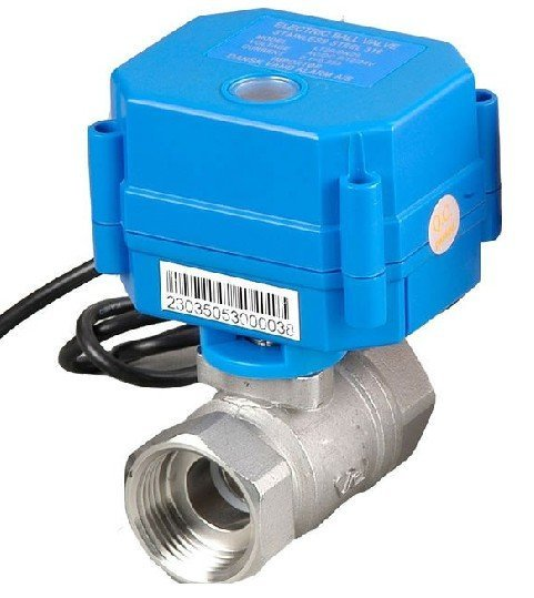 CWX-15Q 1'' Stainless Steel Electric Ball Valve Water 5V Voltage