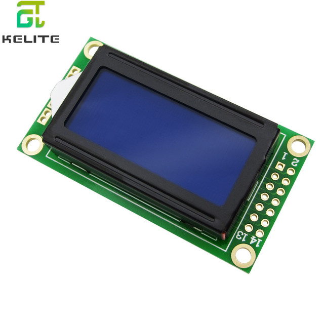 Blue LCD 0802 Character Display Module 5V 0802 for