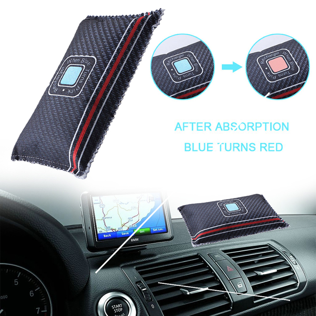 Dehumidifier Air Dryer Car Air Conditioning Home Durable Damp Moisture Absorber Bag 1pcs Silica Gel Dry Car Car Dehumidifier