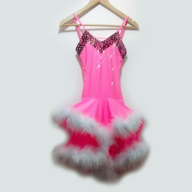 New style latin dance costume sexy spandex latin dance competition dress for women child latin dance dresses S-4XL F22