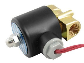 Free Shipping 5PCS DC 24V 2 Way 2 Position Pneumatic Solenoid Valve 2W-040-10 N/C Gas Water Air
