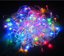 Free Shipping New 10M/100 LEDs String Light Decoration Light for Christmas Party Wedding 220V EU/110v US