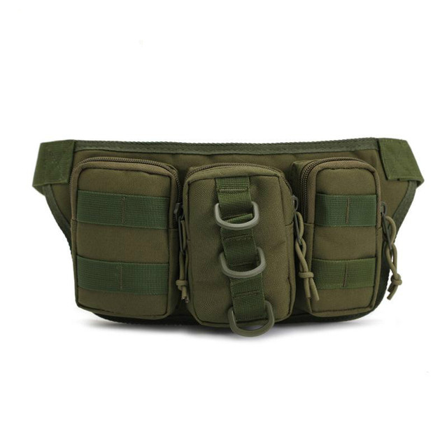 Waterproof Tactical Men Bags Hip Package Pochete Outdoor Sport  Fanny Pack Hiking Travel Large Army Waist Pack  168