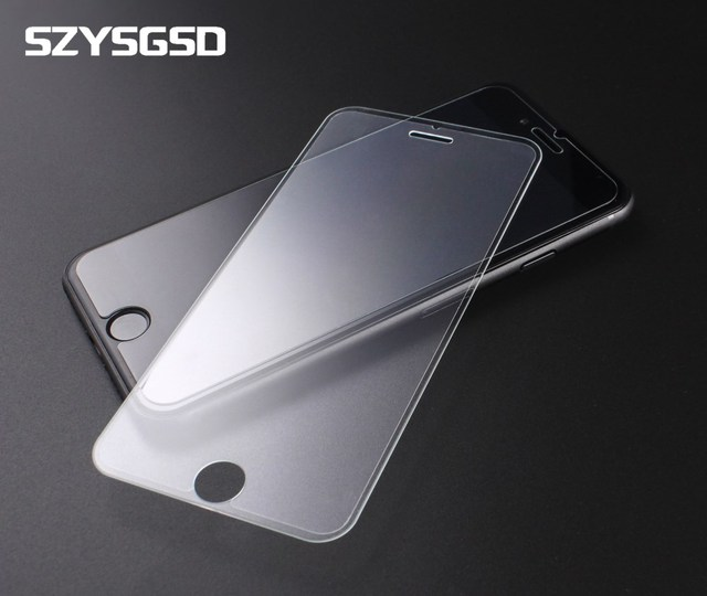 SZYSGSD Transparent Tempered Glass for iphone 7 Ultra Thin Full Cover Screen Protector for iphone 7 Plus Protective HD Glass