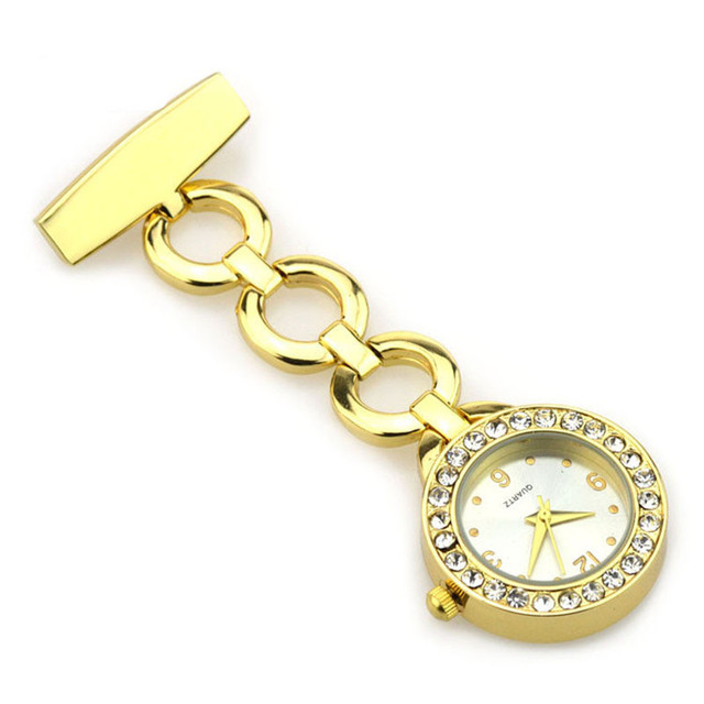 Gifts Doctor Pendant Pocket Quartz Red Cross Brooch Nurses Watch Fob Hanging Medical Pocket Watch Relogio Clock Stainless Steel