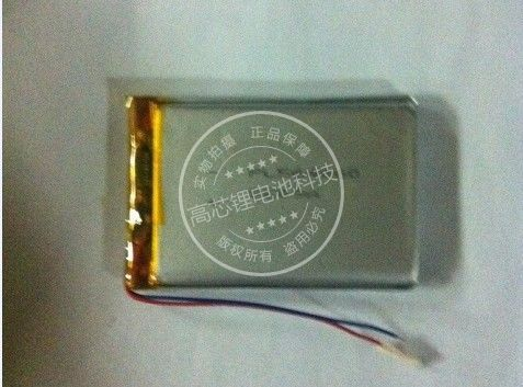 New Hot 3.7V polymer lithium battery 604460 064460 MP4 mobile DVD Bluetooth sound 1600MAH Rechargeable Li-ion Cell Batteries
