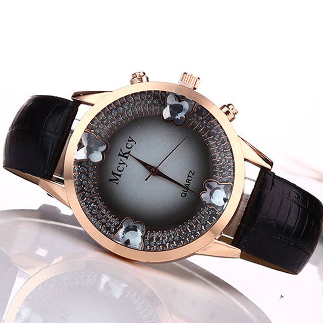 Women Luxury Butterfly Leather Watches Creative Ladies Quartz watch Relogios Femininos Relojes Mujer  FX2051NJ