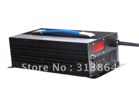 16S 57.6V (3.6V/cell charge) 15Amps LiFePO4 Battery Charger with LCD display