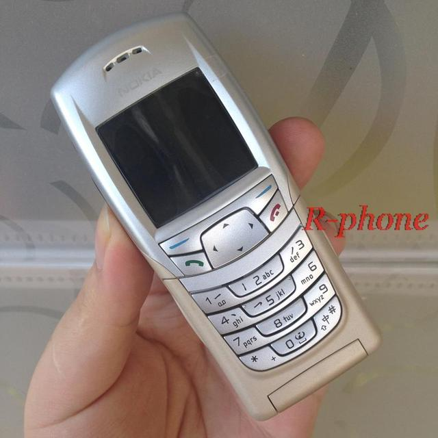 Original Unlocked Refurbished Nokia 6108 Mobile Phone GSM Cellphone One Year Warranty Only English