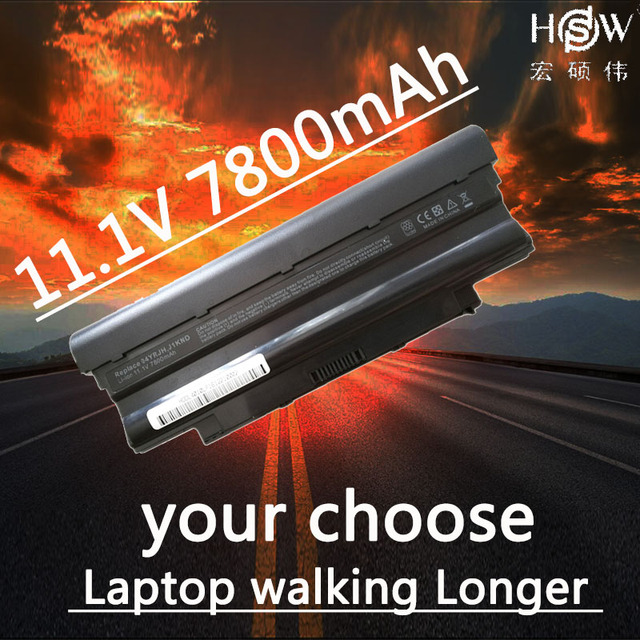 HSW Laptop Battery for Dell Inspiron M501 M501R M511R N3010 N3110 N4010 N4050 N4110 N5010 N5010D N5110 N7010 N7110 battery