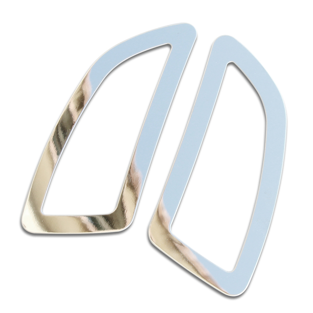 2PCS Stainless steel For Opel Insignia sedan Sport Tourer 2009 2010 2011 2012 2013 2014 2015 Ring outlet decoration car stickers