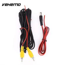VEHEMO 6M Car RCA Reverse Rear View Parking Camera Video Cable with Monitor DVD Video Trigger Wire Cable Accessories