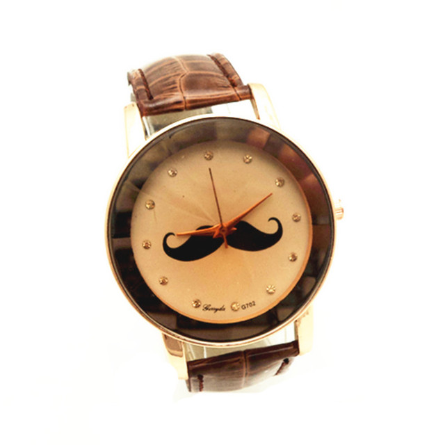 Free shipping!Gerryda 702 fashion lady's watches,beard dial photo,gold plated alloy case,PVC leather band with quartz movement