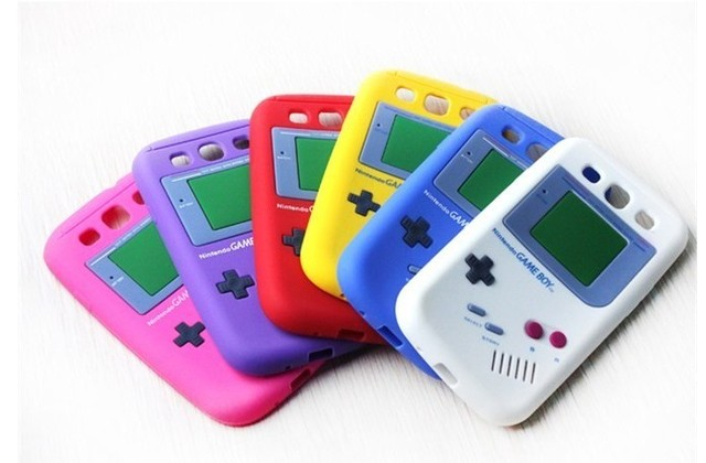 For samsung   i9300 galaxy siii s3 vintage game machine silica silicon gel sets mobile phone case protective case game boy