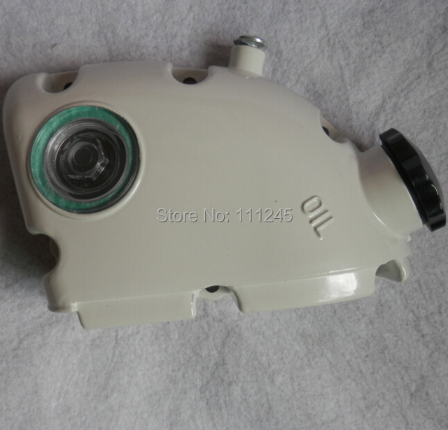 OIL TANK COVER WITH OIL CAP FOR CHAINSAW 070  090  FREE SHIPPING CHEAP CHAIN SAW OIL TANK ASSY  REPLACE PART# 1106-350-4002