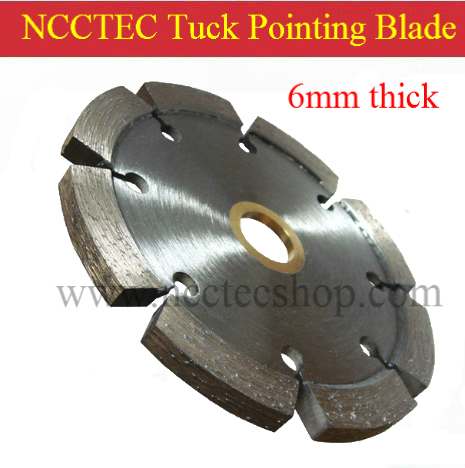 4.4'' Diamond Tuck point blade B044TP / 110mm concrete wall tuck pointing GROOVE tools / 3 5 6 7 10mm thick segment