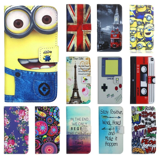 Vintage Case For Huawei Y5 / Y560 Wallet Pattern Leather Bag Coque Case Cover For Huawei Y5 / Y560