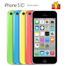 Unlocked Original Apple iPhone 5C Cell Phone 16GB 4.0 inch Screen Dual Core Mobile Phone 8.0MP WIFI GPS Smartphone With Gift