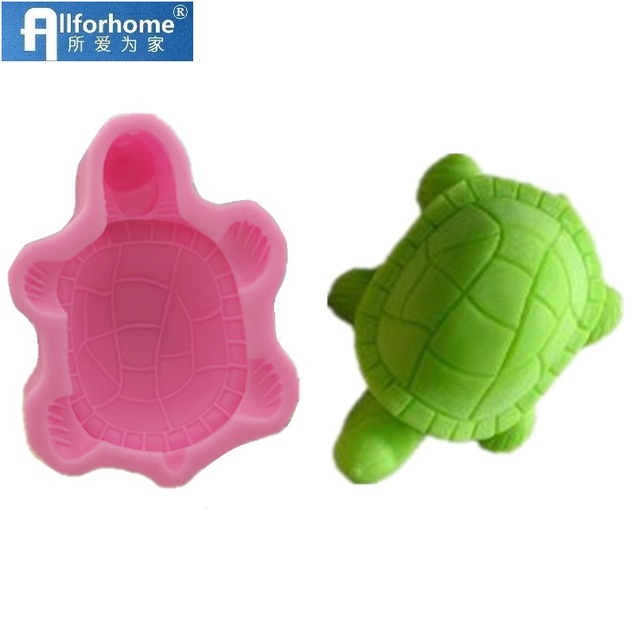 3D Tortoise Turtle Cuckold Silicone Soap Mold Chocolate Mould Soap Candle DIY Mold Soap Making Mold Craft Tool Wholesale