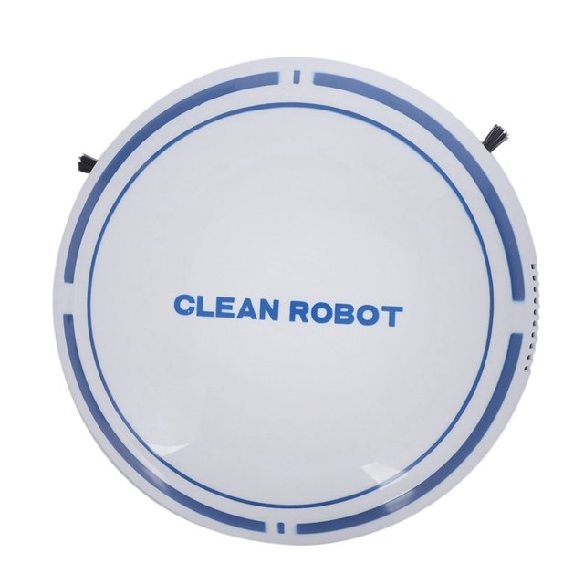 2 In 1 Upgraded Rechargeable Floor Sweeping Robot Dust Catcher Intelligent Auto-Induction Floor Sweeping Robot Vacuum Cleaner