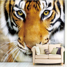 Buy Custom Photo Wallpaper Tiger Animal Wall Paper Bedroom Background Large Mural Wall Art Murals Living Room Home Decor Painting In The Online Store Tianlin Store At A Price Of 12 99 Usd