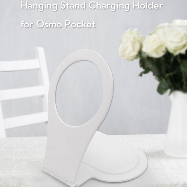Hanging Wall Bracket White Extension Mini Charging Bracket Desktop Portable Bracket Accessory for Osmo Pocket