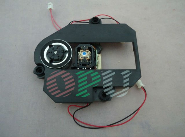 Free shipping 1200W-B DVD laser opitcal pick up with mechanism 3 connectors for portable moving DVD player