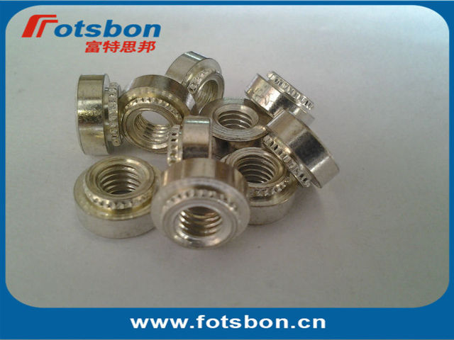 KF2-M2.5  Broaching Nut, carbon steel, ET, IN STOCK, made in china, P.E.M standard