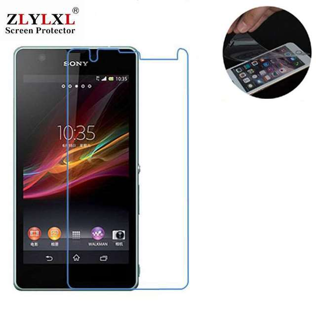3 pcs for sony xperia zr screen protector film M36H