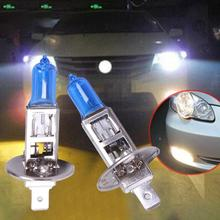 2017 1Pcs Xenon Gas White Light Lamp Bulbs H1 12V 100W Super White Halogen Bulb FOG XENON Halogen For Universal Car 5500K