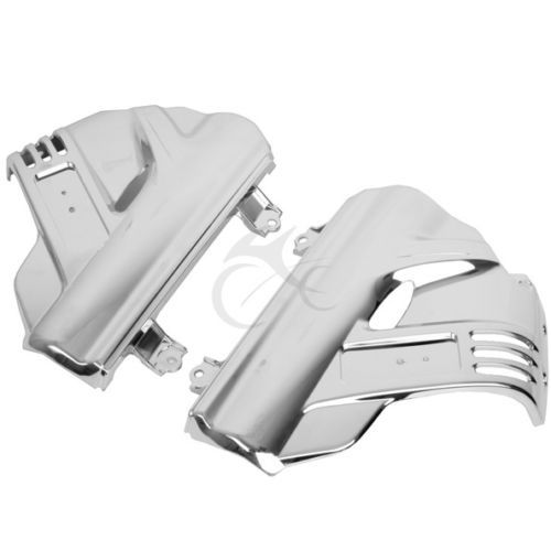 Motorcycle Chrome Front Brake Pump Fender Covers For Honda GL1800 GOLDWING 2006-2017 New