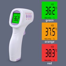 Infrared Forehead Baby Alarm Thermometer Digital Blacklight Fever LCD Non-contact Body Temperature
