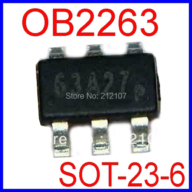 OB2263 Current Mode PWM Controller SOT-23-6