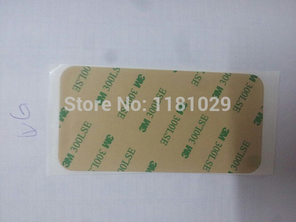 10pcs/lot 3M Pre-Cut Adhesive Strip Tape Sticker For iPhone 4 4S stick the LCD and the middle frame Free Shipping