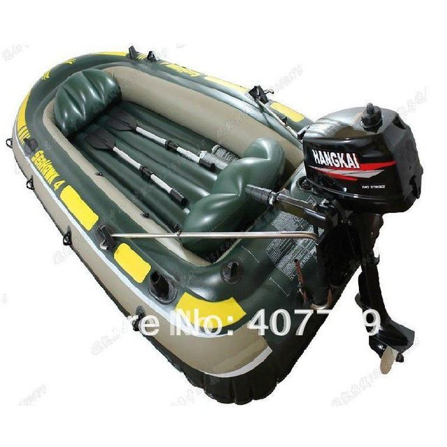 top quality  10% off 3 people durable inflatable  Drifting fishing boat  Kayak canoe with motor skiff