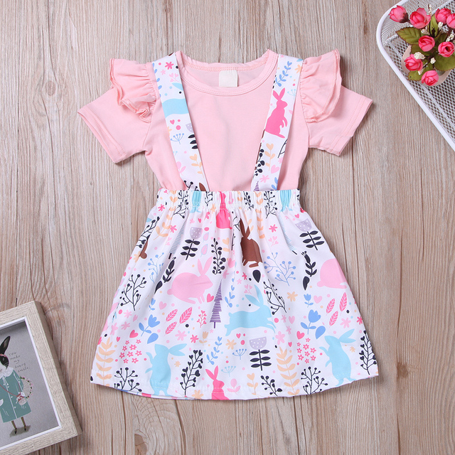 2019 New Cartoon Girl Baby Dresses Pattern Print Lemon Birthday Dress Female Baby Summer Clothes Kids Girl Clothes