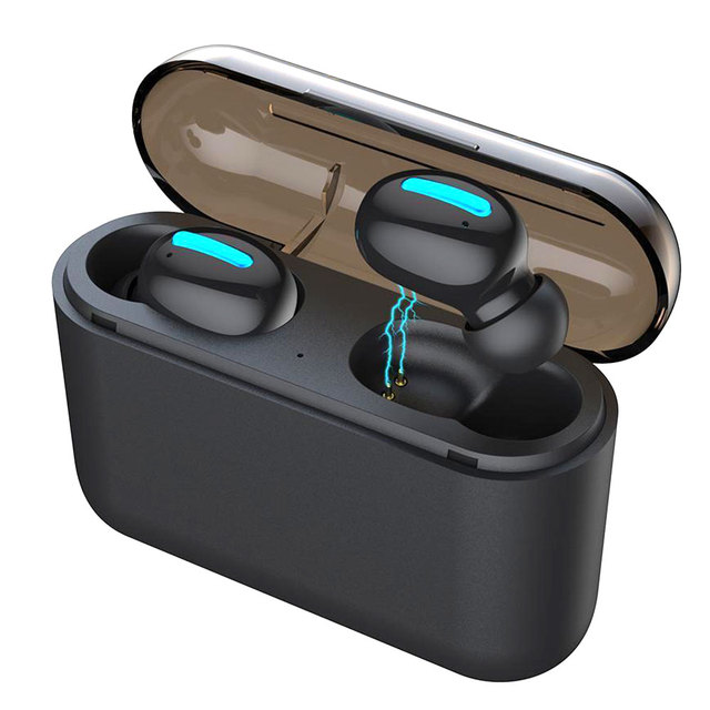 Mini Bluetooth V5.0+EDR Earphone Sport 50mAh Headphone Wireless Headset Smart Phone