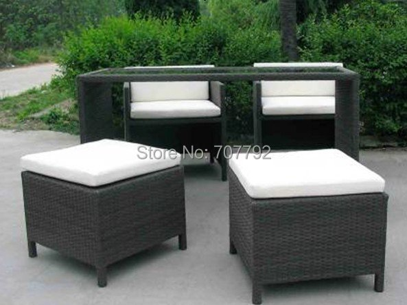 Hot sale SGZA-0051 Elegant synthetic rattan patio furniture