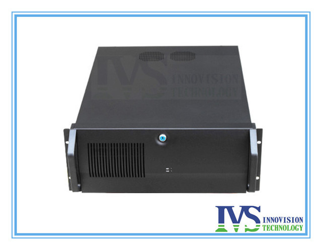 high quality 4U rackmount sever chassis IPC570Z 4U case with Unique one-wholed lockable front bezel