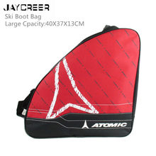 JayCreer Ski Boot Bag Skiing & Snowboarding Travel Luggage For Stores Gear Include Jacket Helmet Goggles Gloves & Accessories
