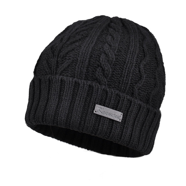 New Kenmont Autumn Winter Men Beanie Hat Wool Jacquard Ski Chic Skullies Cap for Christmas Holiday Gifts 1759