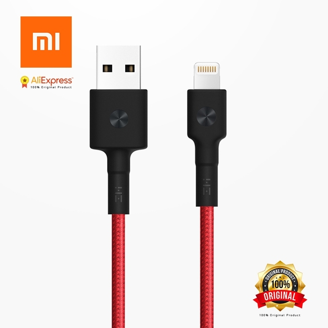 Xiaomi Original ZMI USB Cable 1M for iPhone X 10 8 Plus 7 Plus 6 Plus MFi Certification Magnetic accessories for Apple Devices
