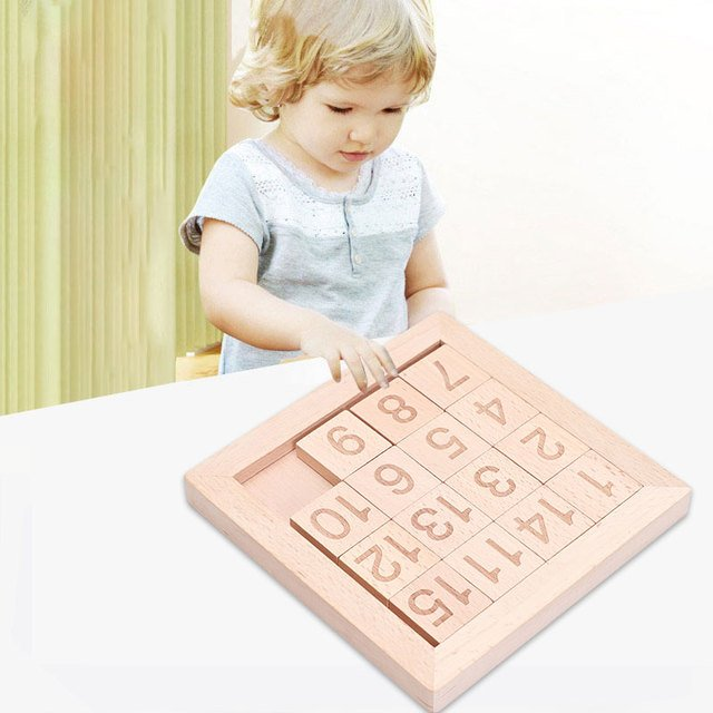 Constructors Educational toys  Number Educational Puzzle Toys Puzzle  Wooden 3d Puzzle toy
