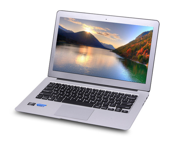 1PCS best price full metal laptop with free shipping Windows 10 or Windows 8 or Windows 7 8G 256G ultrabook notebook free gifts