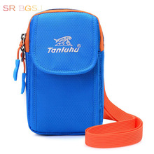 Free Shipping Valentine's Day gift Women Men Small Mini Light Arm Package Wrist Bag With Shoulder Belt