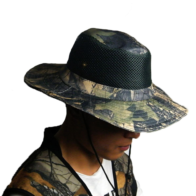 THKFISH Fishing Hat Cap Camouflage Caps Hats Summer Sun Protection Hat Outdoor Fishing Hats