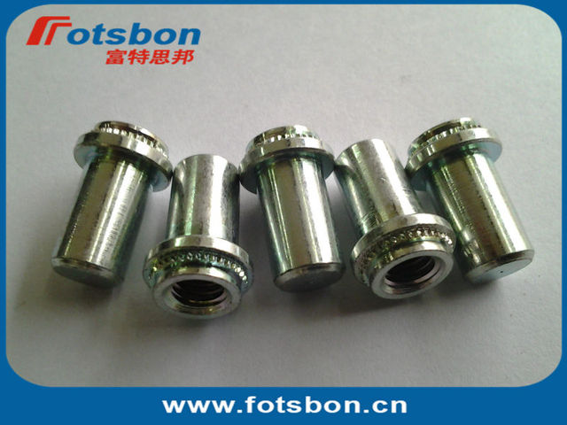 B-M6-1 Blind self clinching Nut, carbon steel, zinc, in stock,