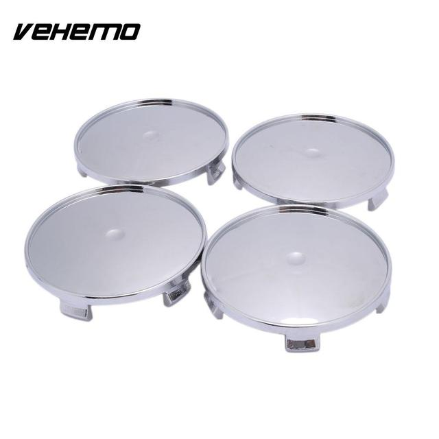 Vehemo 4PCS No Logo Premium Quality Durable Hub Cap Tire Car Accessories Wheel Hub Cover for 68mm-65mm Wheel Center Cap