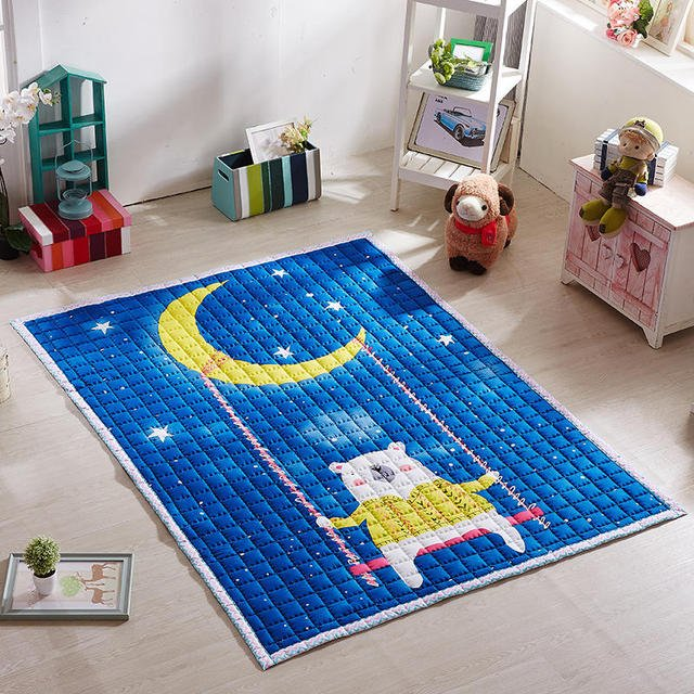 Cartoon Baby Play Mat Quality Kids Play Carpets Thicken Outdoor Baby Crawling Mats Baby Crawling Puzzle Carpet Soft Room Rugs